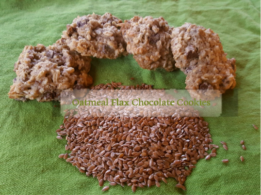 oatmeal flax cookies